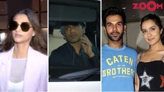 Sonam, Nawazuddin Return From Cannes | Shraddha & Rajkummar Attend Stree's Wrap Up Party & More - ZOOMDEKHO