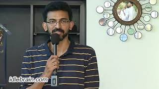 Sekhar Kammulu about Malli Raava - idlebrain.com - IDLEBRAINLIVE