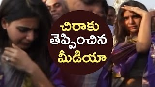 Actress Samantha Gets Irritated By Media @ Tirumala | Samantha Visits Tirumala | TFPC - TFPC