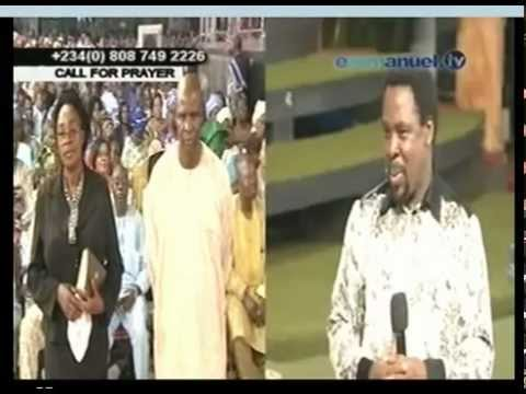 TB Joshua. Deliverance of pastor from evil spirit