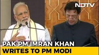 Imran Khan Writes To PM Modi Seeking Resumption Of India-Pak Dialogue - NDTV
