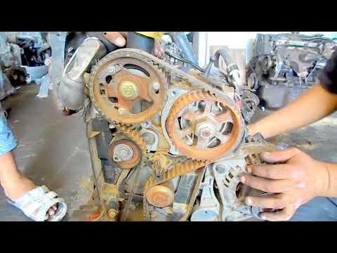 Changement de la courroie de distribution 1.5 dci megane dacia nissan tout modele 1.5 dci