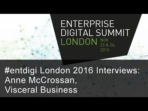 #entdigi16 Interviews: Anne McCrossan, Visceral Business