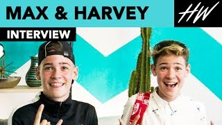 Max & Harvey Reveal Shocking Fan Encounter!! | Hollywire - HOLLYWIRETV