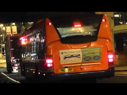 Route 757 Centrebus Leeds Scania CN94UB Scania OmniCity 787 (YN03 UWT) Drive Off