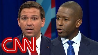 DeSantis, Gillum spar over gun control and crime - CNN