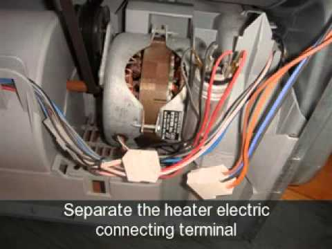 How to change the Heater Element on an Indesit Tumble Dryer