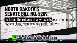 N.Dakota bill #2209: Public records to be sealed... leaving many questions unanswered - RUSSIATODAY