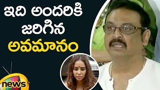 Actor Naresh Reacts On Sri Reddy Protest infront Of MAA Office | Mango News - MANGONEWS