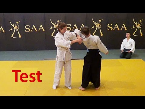 Aikido First Test | SAA Affiliate Member Exam