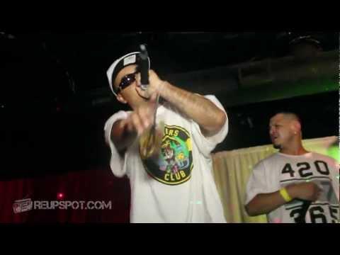 Live Hip Hop - D-Frost Live @ Club Pa