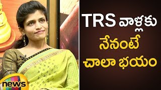 CM KCR Made Me Popular Says Lawyer Rachana Reddy | Rachana Reddy Exclusive Interview |Mango News - MANGONEWS