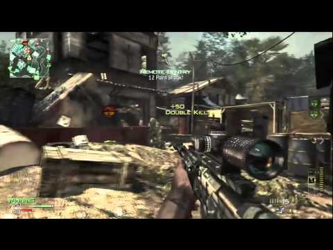 Call of Duty: MW3 - AWESOME AS50 Sniper 6 Man Feed | Modern Warfare 3