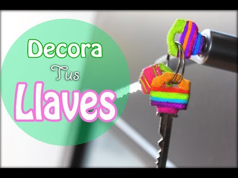 DIY: Decora tus llaves// Key covers