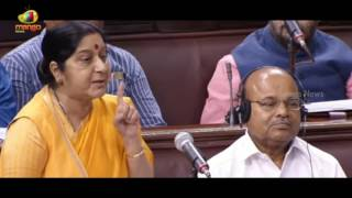 External Affairs Minister Sushma Swaraj Speaks On H1B Visa | Rajya Sabha | Mango News - MANGONEWS