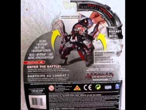 Bakugan Update: Baku-Tech & Bakugan  Mechtanium Surge 1/2
