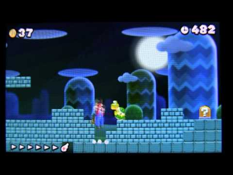 unlimited 1ups New Super Mario Bros. 2 4-pattern 4-course 無限1up 無限増殖