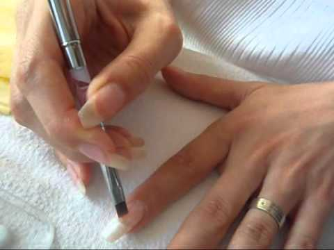 Manichiura French din Gelish / How to applyGelish  french manicure