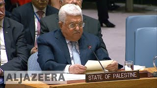 Abbas calls for international peace conference at UNSC - ALJAZEERAENGLISH