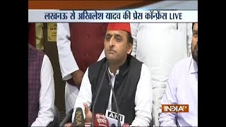 People have voted in large numbers and this helped us win the UP bypolls: SP Chief Akhilesh - INDIATV