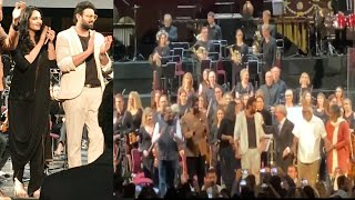 Baahubali Team Receives A Standing Ovation at The Royal Albert Hall - RAJSHRITELUGU