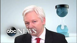 Secret indictment of Wikileaks founder accidentally disclosed - ABCNEWS