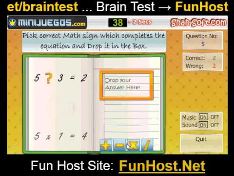 Brain test - videospel