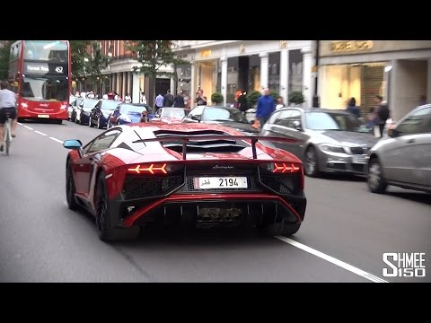 Lamborghini Aventador SV LP750-4 - Cruising in London