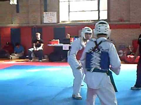 mego tkd tournament fight