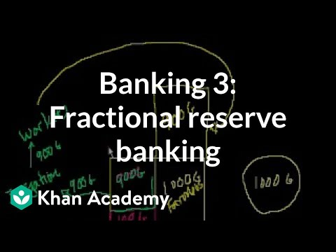 Banking 3: Fractional Reserve Banking