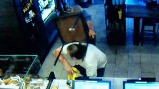 Starbucks customer takes on armed robber - CNN