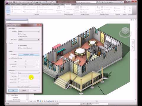 Visualization Enhancements in Revit Architecture 2012