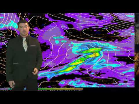 Thursday Evening Forecast 12/12/13