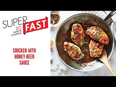 How to Make Chicken with Honey-Beer Sauce