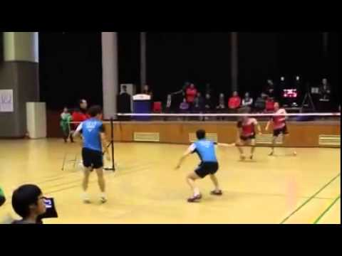 Badminton World No 1 Men's Double Pair Training Match
