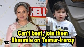 Can't beat, join them: Sharmila on Taimur-frenzy - BOLLYWOODCOUNTRY