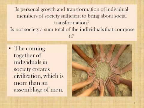Moral Capabilities Spoken Tutorials on Lesson 3 Society and the Community