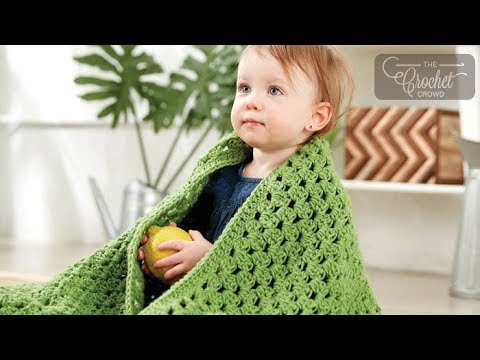 How to Crochet A Baby Blanket: For Beginners