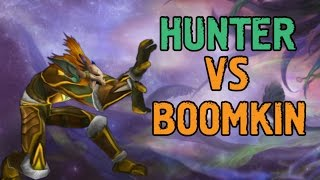 WoD PvP Hunter(MM) vs. Boomkin guide (ПвП Охотник(ММ) vs. Баланс друид гайд)