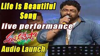 Life Is Beautiful Songs Live Performance At Pandaga Chesko Audio Launch LIVE - ADITYAMUSIC