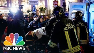 Rome Escalator Runs Out Of Control, Causes Pileup And Injuries | NBC News - NBCNEWS