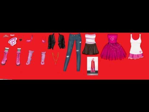 como consegir ropa de barbie y un lavial