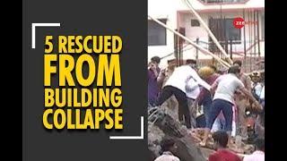 Ghaziabad building collapse: 5 rescued from debris - ZEENEWS