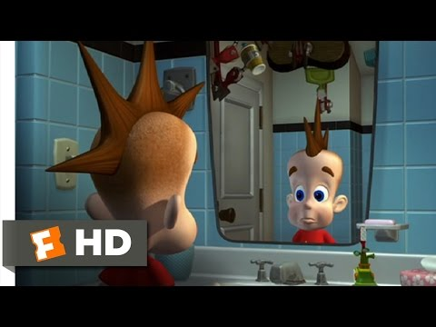 Jimmy Neutron: Boy Genius (1/10) Movie CLIP - Getting Ready For School (2001) HD