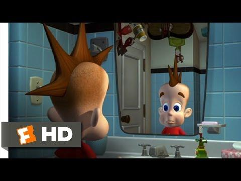 Jimmy Neutron: Boy Genius (1/10) Movie CLIP - Getting Ready For School (2001) HD