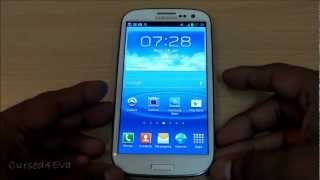 Galaxy S3: How to flash Custom ROMS - I9300 - Cursed4Eva
