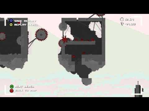 Super Meat Boy - Chapter 6 - The End (Light World) -nIcmrx7poCs