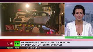 Suspect in London Parliament car crash is UK citizen of Sudanese origin – media - RUSSIATODAY