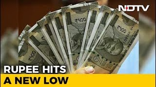 Rupee Hits Fresh Record Low Of 70.32 Against US Dollar - NDTV