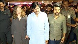 Pawan Kalyan Watched Rangasthalam Along With His Wife and Ram Charan - TFPC